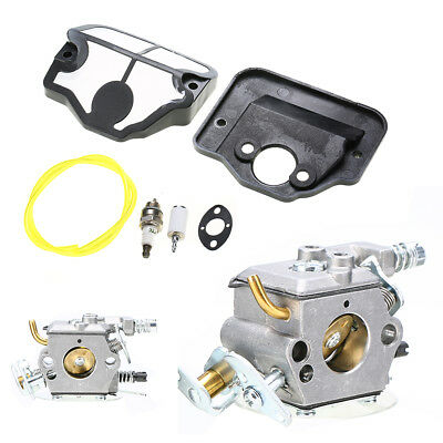 Air Fuel Filter Line Carburetor Kit For Husqvarna 36 41 136 137 141 142 Chiansaw