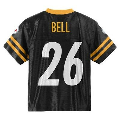 (2018-2019) Pittsburgh Steelers LE'VEON BELL nfl Jersey YOUTH KIDS BOYS (s-small