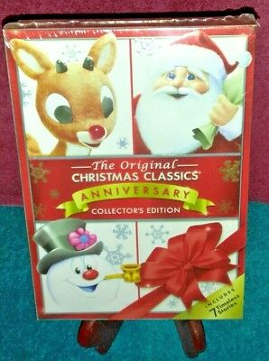 the original christmas classics dvd anniversary collectors edition rudolph santa