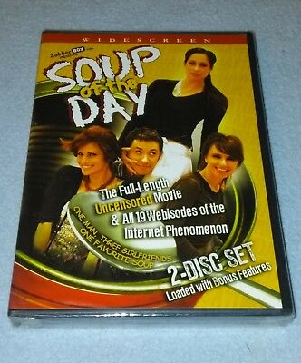 Soup of the Day (DVD, 2007, 2-Disc Set) **BRAND NEW**