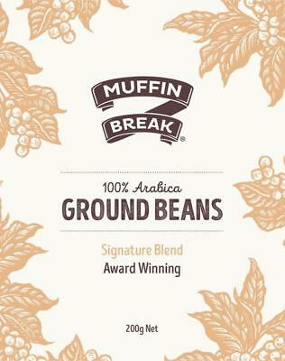 Muffin Break-Whole Coffee Beans-200g-BEACON FOUNDATION*
