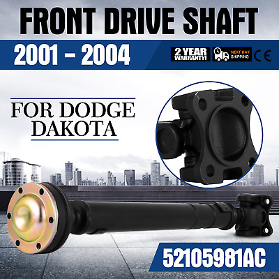 """NEW Complete Front Drive Shaft Assembly for Dodge Dakota 4x4 / 4WD 26"""" Hot"""