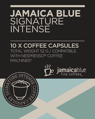 Jamaica Blue Coffee Capsules-Intense(4x10pack)-BEACON FOUNDATION*