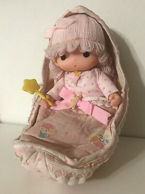 Vintage Sanrio 1976 Little Twin Stars Lala Kiki Doll