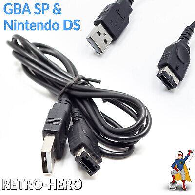 Ladekabel Game Boy Advance SP & Nintendo DS Strom NDS USB netzteil GBA gameboy