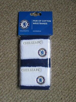 Chelsea FC pair of cotton wristbands