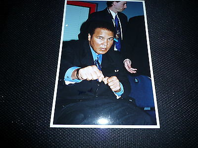 MUHAMMAD ALI  signed Original Autogramm In Person 18x27 cm Rar!!