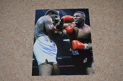 MIKE TYSON signed Autogramm In Person 20x25 cm WELTMEISTER Schwergewicht rar!!
