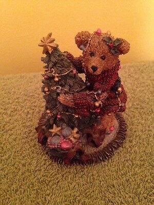 Boyds Bears And Friends Elliot And The Tree ZOE/441