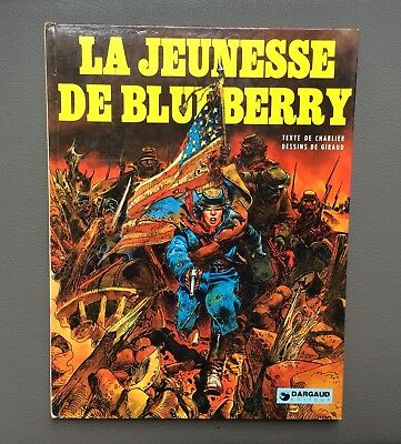 La jeunesse de Blueberry. Dargaud 1979