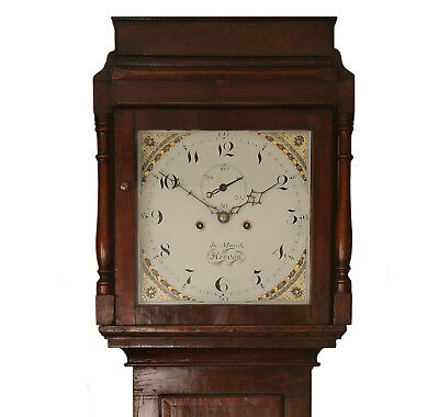 8 Day Longcase Clock - Professionally Serviced & Guaranteed for 2 Years. C.1820.