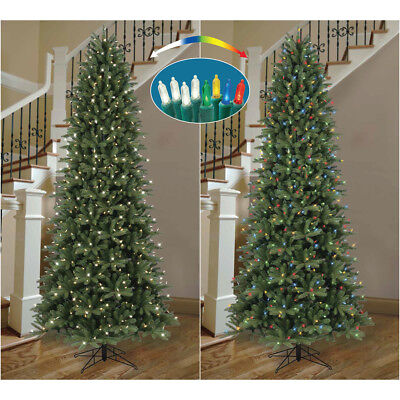ge 9 ft pre lit frasier fir artificial christmas tree with color changing lights - Frasier Christmas Tree