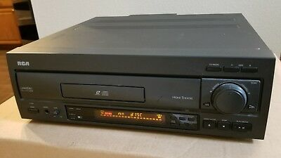 RCA LDR610 Laserdisc CD LD  Player with Original Jog Remote Dbl Sided S-Video