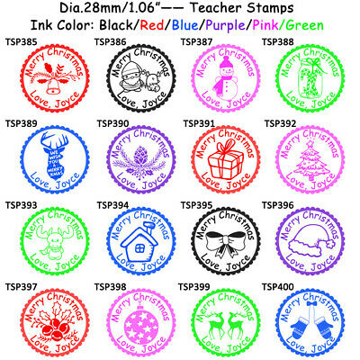 Teachers Self Inking Rubber Stamp Set Review Reward Stationary Comment Praise