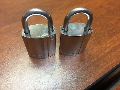 2 Abloy Finland 321 Padlock High Security Lock( No Key) .deal For Locksmiths