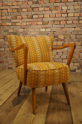 Rockabilly COCKTAIL SESSEL LOUNGE CHAIR VINTAGE Mid-Century CLUBSESSEL 50er