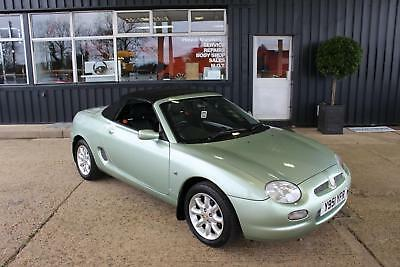 Trophy Cars Mgtf Mgf,37K Miles,new Exhaust,full History,rare Colour,rac Warranty