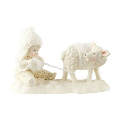 """Department 56 Snowbabies """"I'd Do Anything For Ewe"""" Porcelain Figurine,"""