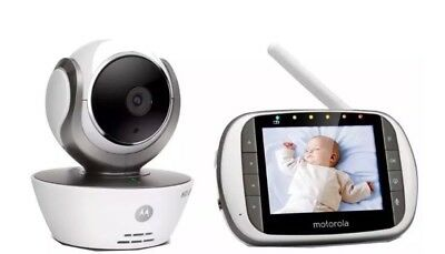 Motorola MBP853 Connect Wifi HD Digital  Baby Monitor Security Camera CCTV