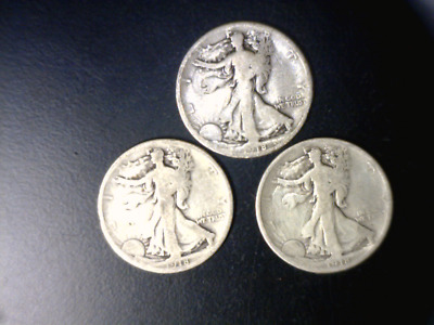 1918 Silver Walking Liberty Half Dollar - One Hundred Year Old Us Coin - History