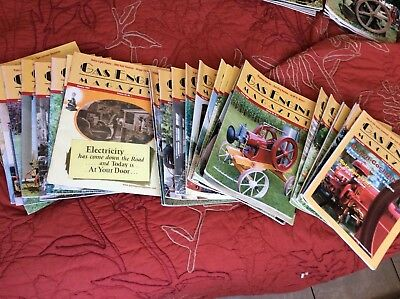 Gas Engine Magazine lot of 27 Different 2003(6) 2004(10), and 2005(11)