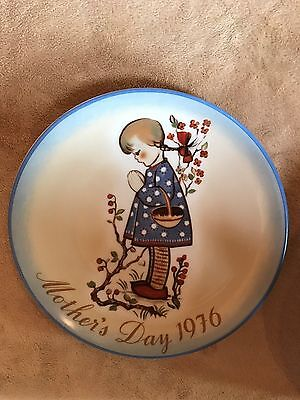 Vintage~Mother's Day Plate~Devotion~Hummel~1976~Ltd~W German~Gift~Decor~Rare~EUC