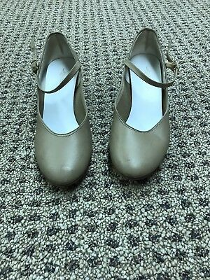 Lynch's nude dance or character shoes 8.5