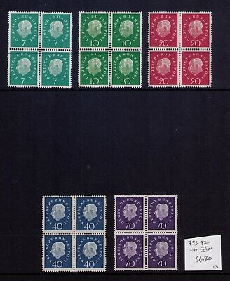 Germany,post Wwii Nice Lot Of Mnh Stamps Sc# 744//793;b355-67,cv:$190.00