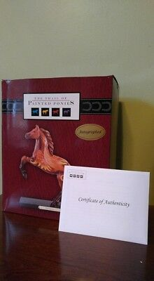 The Trail of Painted Ponies Emergence RARE Autograph Ed. Signed 1/75