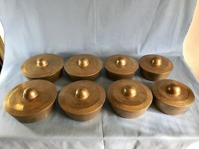 Antique Heavy Bronze Gamelan Gongs Musical Instruments For Use Or Home Decor 8
