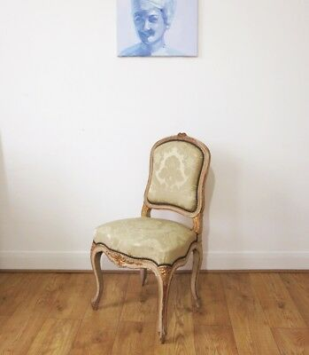 French Provincial Louis style armchair~chair~boudoir~carved~shabby chic~ornate
