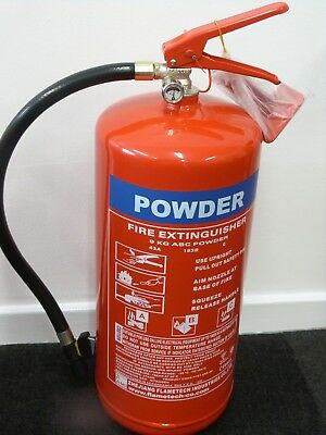 ABC Dry Powder Fire Extinguisher 9kg with CE/BSI Approval BUY 1 GET 1 FREE