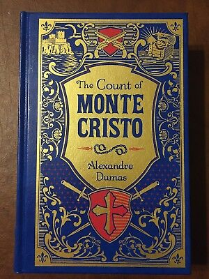 The Count of Monte Cristo by Alexandre Dumas -leather bound-mint.