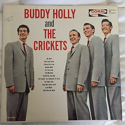 BUDDY HOLLY And The CRICKETS-Original Maroon Label #CRL 757405