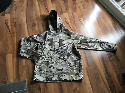 Under Armour Camouflage Hoodie S/YXL
