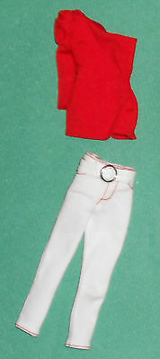 BARBIE BASICS MODEL MUSE WHITE JEANS RED TOP TARGET COLLECTION! No. 3