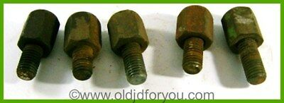 A1892R A5292R Lot of 5 John Deere Implement Nuts with Studs - Why buy new?