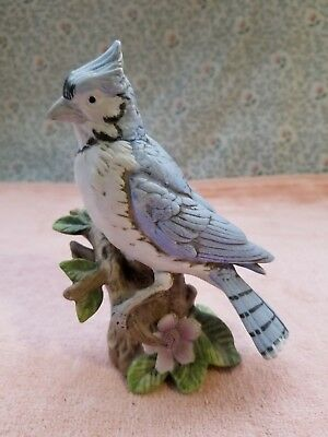 "Vintage Blue Jay Figurine / Statue 5.5"" Tall - Very Good Condition"
