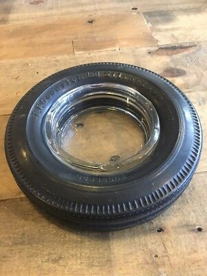 Bf Goodrich Ashtray Silvertown 770 Tire Rubber Statue Display Oil Smoking Sign