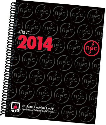 2014 National Electrical Code NEC code book NFPA 70