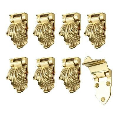 8 Pcs Window Sash Lifts Decorative Cast Heavy Brass | Renovator's Supply