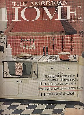 Vintage Sept 1960 The American Home Magazine