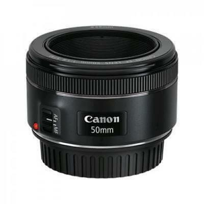 Canon EF 50mm f/1.8 STM Lens for Canon Digital SLR Cameras  (Filter Thread Front