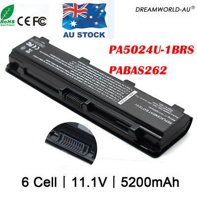 Laptop Battery for TOSHIBA Satellite PA5024U-1BRS PABAS260 C850 L800 AU Lot