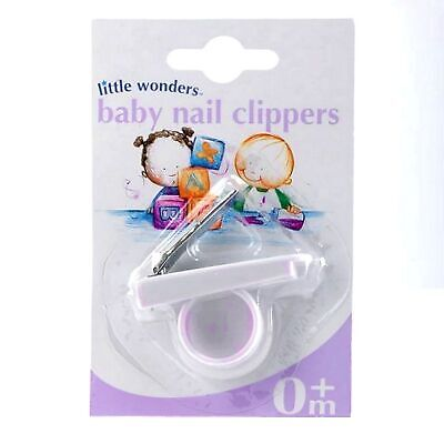 Little Wonders Newborn Baby Nail Clippers - From Birth