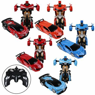 Transformer 2.4G RC Remote Control Deformation Robot Car Rechargeable