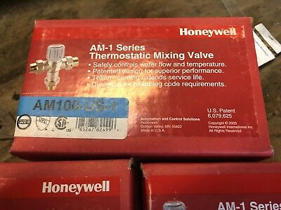 Honeywell AM-1 Series AM100-US-1 Thermostatic Mixing Valve 1/2""