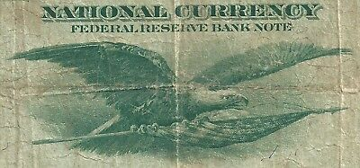 1918 $1 National Currency <<< Flying Eagle >>> Kansas City