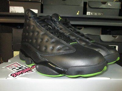 Sale 2017 Air Jordan 13 Retro Altitude Green Black 414571 042 Sz 7.5-13 New Xiii