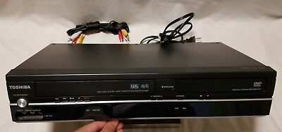 Toshiba SD-V296 DVD Player VCR Combo Player Tested/Works